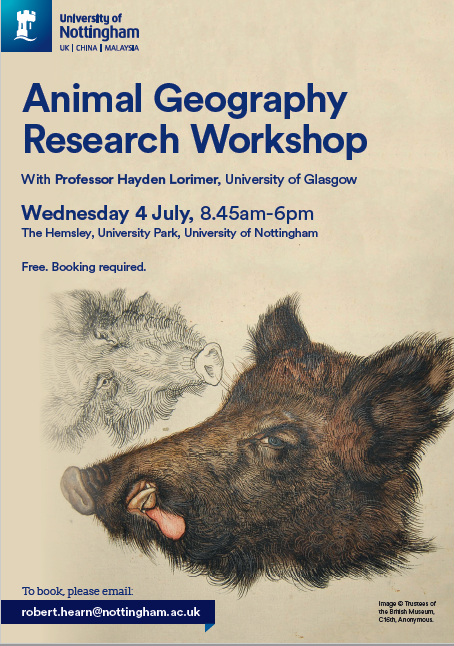 Animal Geography Research Workshop Poster