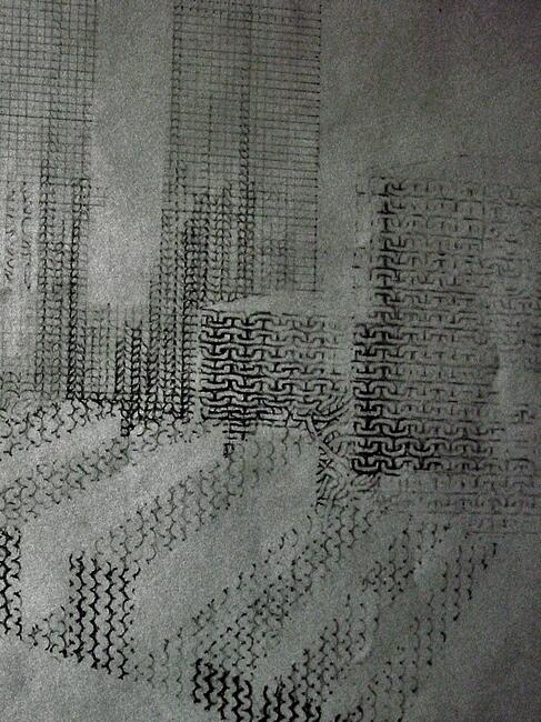 Interconnected city (drawing by Helen Scalway)